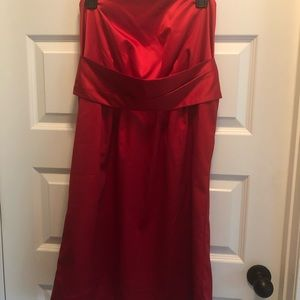 Red Cocktail Dress Size 10  BNWT